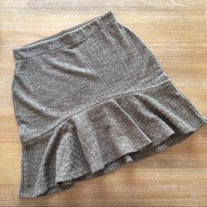 NWT Mocha Knit Mini Skirt